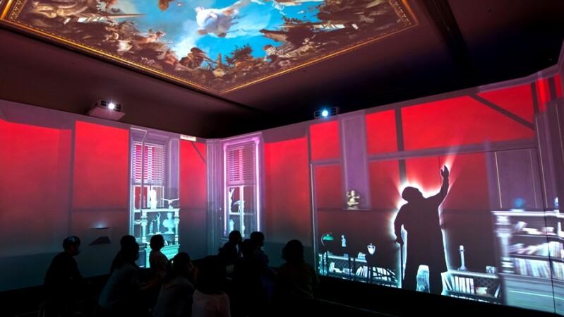 台南奇美博物館全新展區「時間的房間」登場!360度投影穿越百年畫作歷程,還有3D立體地景超好拍