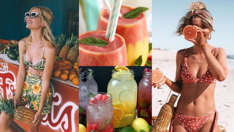 6款好喝健康、有助於減脂瘦身的夏日果汁搭配食譜來了!連續喝一週就有感!