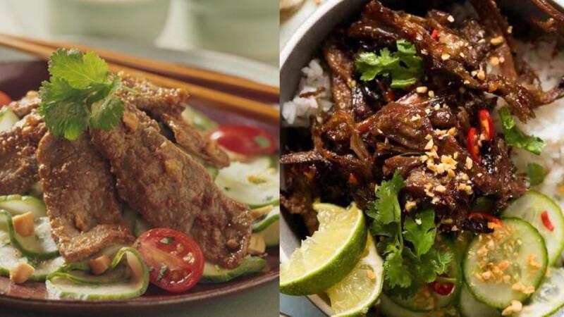 低脂低熱量減肥食譜—醬燒牛肉片爆炒小黃瓜,10分鐘完成,適合懶人服用!