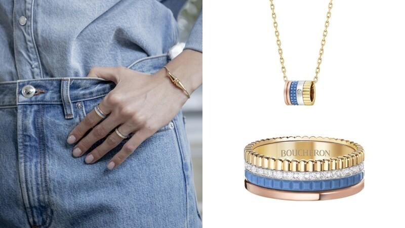 Boucheron Quatre系列推出新材質!百搭又時髦,珠寶控與丹寧控必須收