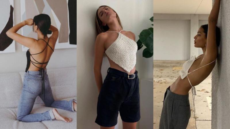 肚兜是趨勢?今年超火的「 Napkin top 」越看越想入手,用 3 種款式讓你穿出超模感!