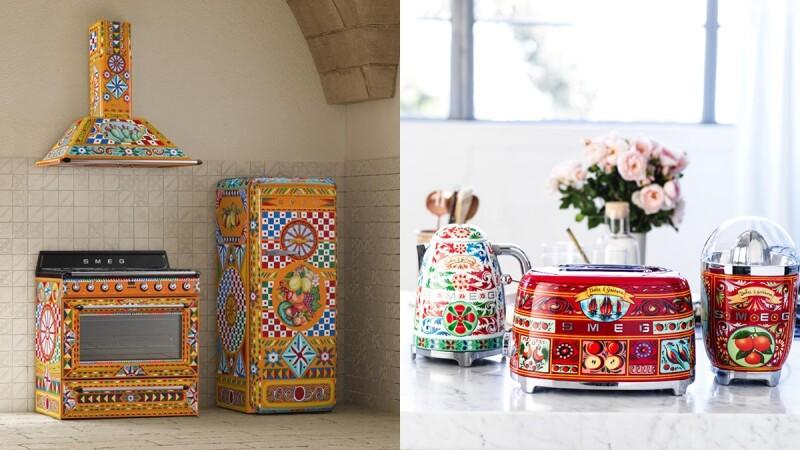 最美冰箱華麗變身!Smeg全新聯名Dolce&Gabbana系列限量上市,每台皆純手工繪製,為廚房注入西西里島陽光風情