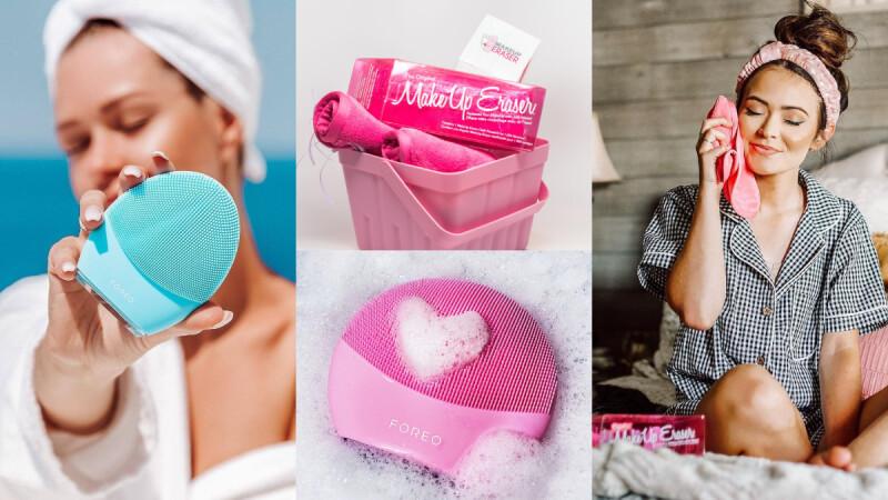 沾水就能卸妝的毛巾Makeup Eraser®、Sephora 賣翻的FOREO洗臉機,讓百萬網紅推爆的超強洗卸神器登台了