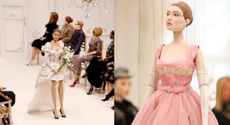2021春夏米蘭時裝週 Moschino木偶奇遇記!以身長高達45公分的娃娃取代真人模特走上伸展台