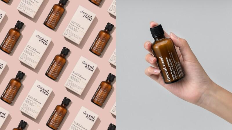 decent rossi藥師研發的MIT保養品,溫柔守護每一吋肌膚,明星商品「頭皮甦醒洗髮粉」極簡到只有6成份