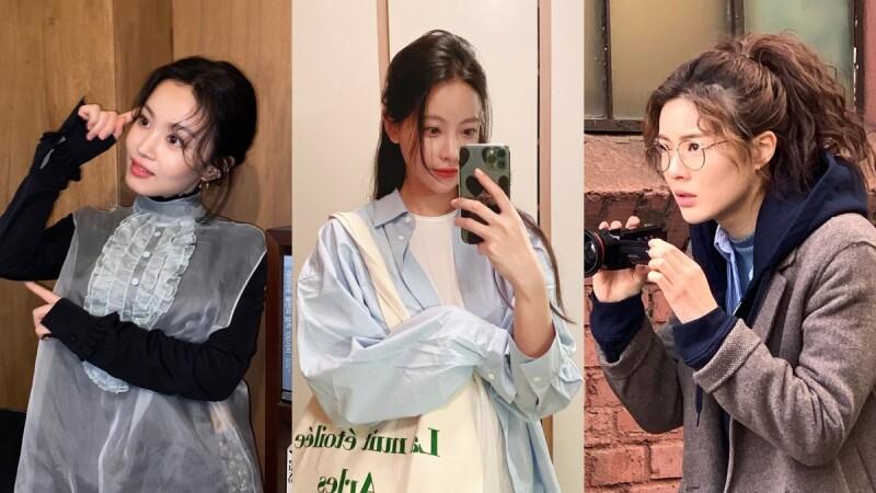 秋冬瀏海趨勢:時尚中分、復古女伶捲、羊毛捲…讓你親和力up的4種選擇!