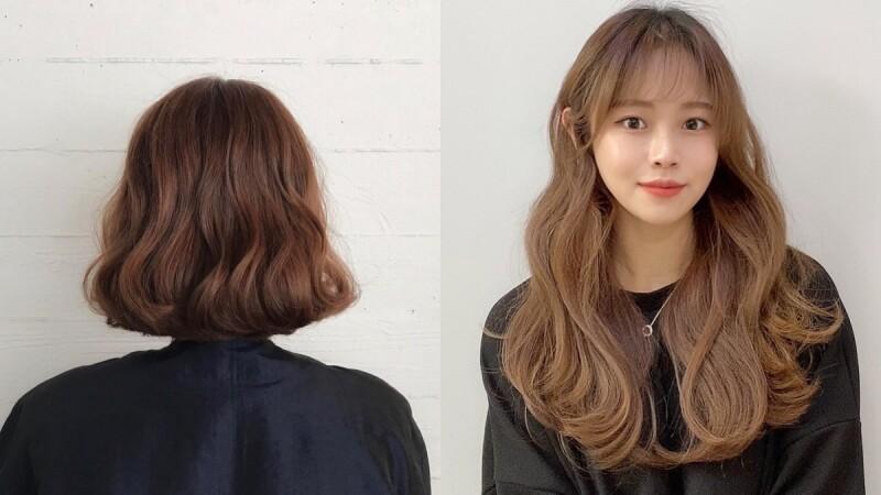 2020秋冬燙髮趨勢:豐盛感韓系碎花捲,絕對是今年最顯小臉的捲度!