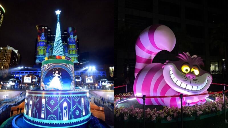 2020新北歡樂耶誕城取消戶外集會活動!48座迪士尼燈區照常點燈,完整時間、打卡點都在這一篇