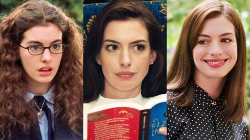 從少女晉升為女神!Anne Hathaway六部經典作品《穿著Prada的惡魔》、《高年級實習生》...造型大解析