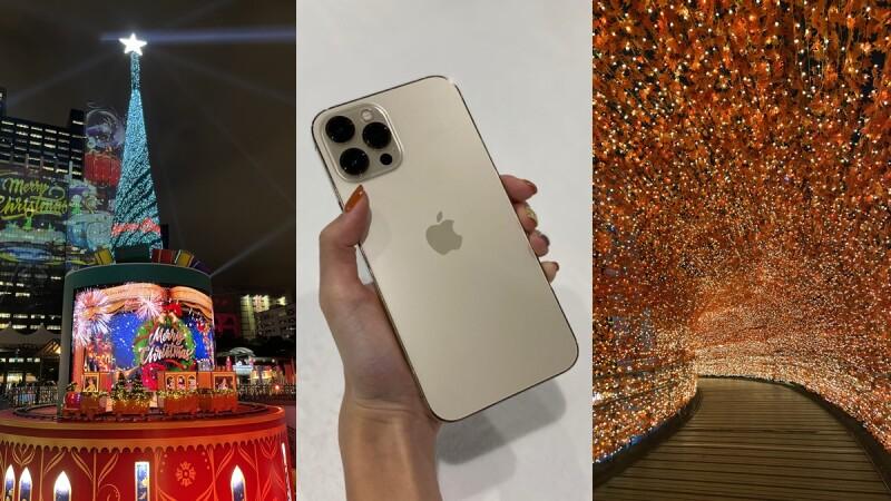 用iPhone 12 Pro Max搶先逛2020新北耶誕城!實測夜拍、錄影效果太強大,就連夜間模式人像都超美