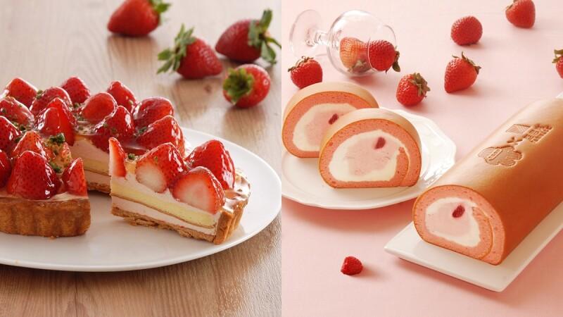 草莓季限定!亞尼克推雪莓戀生乳捲,13款甜點草莓甜點期間限定登場
