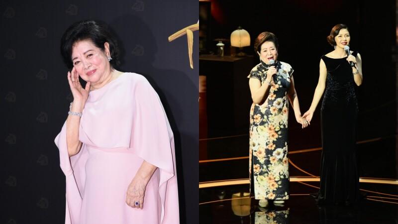 《孤味》金馬最佳女主角陳淑芳紅毯、表演、拿獎3套絕美禮服細節帶你看