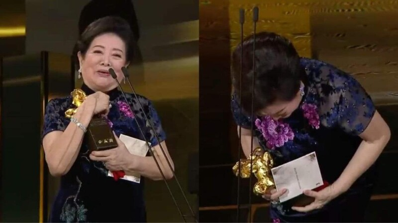 「國民阿嬤」陳淑芳一次奪金馬57最佳女主角、最佳女配角!感性淚灑舞台:63年才拿到金馬,我是演員,不是明星!