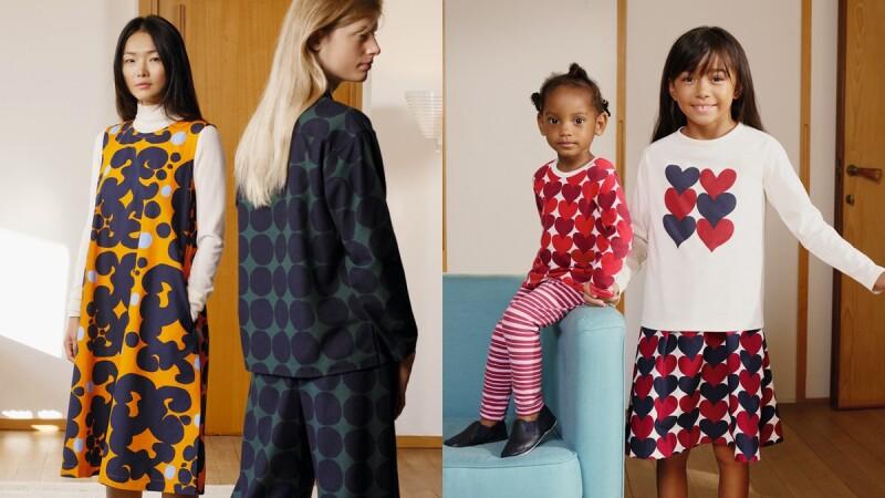 羽絨外套、發熱衣換上繽紛印花圖案!Uniqlo X Marimekko聯名系列再度登場,網路商店加碼贈送印花托特包