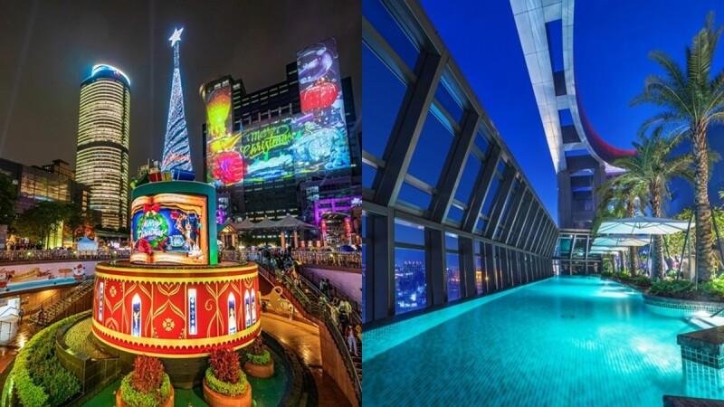 2020新北耶誕城住宿推薦!5間板橋飯店總整理,全台最高無邊際泳池、迪士尼電影院,留下最完美聖誕節回憶