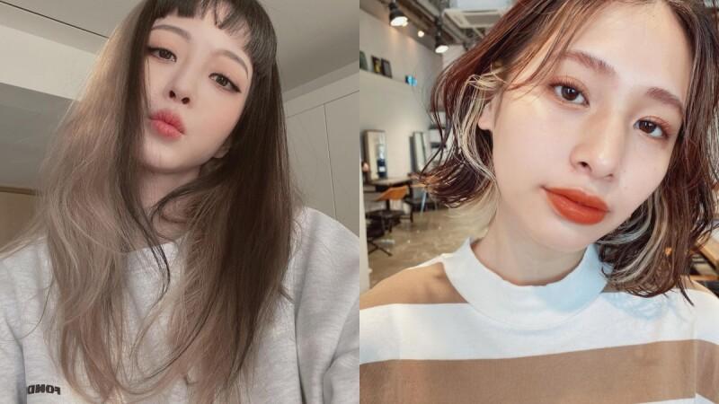 日本最新染髮趨勢:輪廓染!用挑染線條凸顯五官,甚至還有小臉效果!
