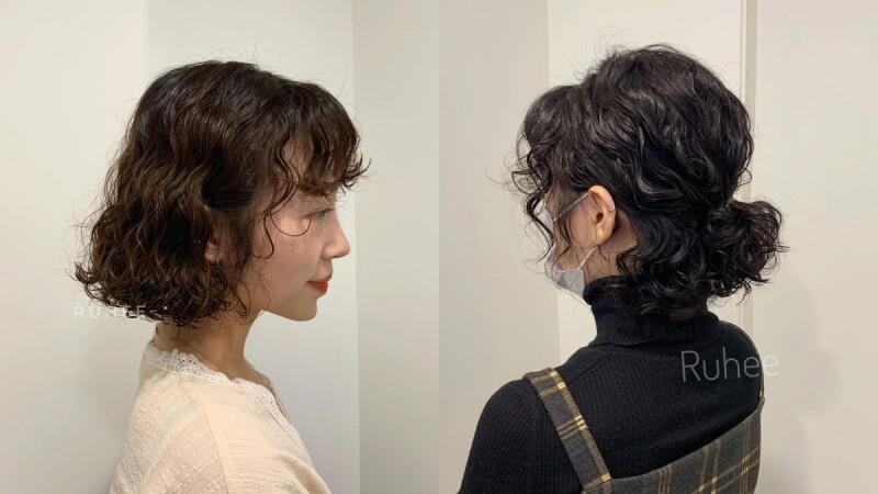 最適合短髮的捲度!顯嫩又活潑的「蜜桃捲」請筆記,燙起來一路到明年春夏都好看!