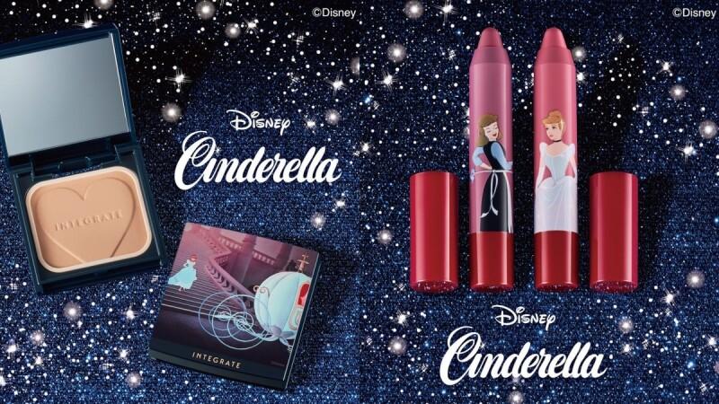 INTEGRATE櫻特芮X迪士尼仙履奇緣推出聯名彩妝!南瓜馬車粉盒、奶茶裸粉嫩唇筆畫出灰姑娘的美貌