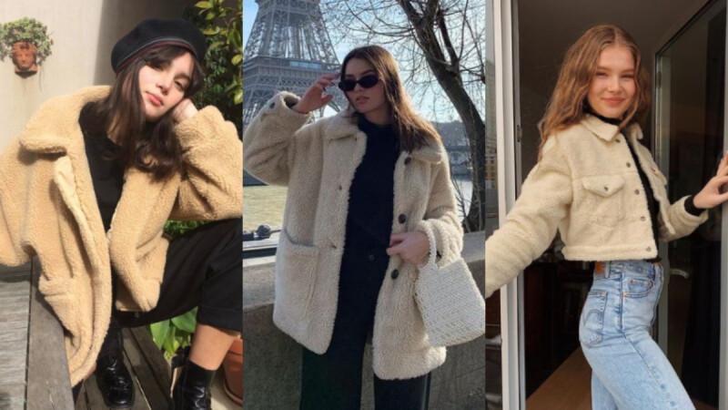 2020 秋冬持續熱燒的「泰迪熊外套」怎麼搭?短版、長版、多色搭配攻略一次整理給你!