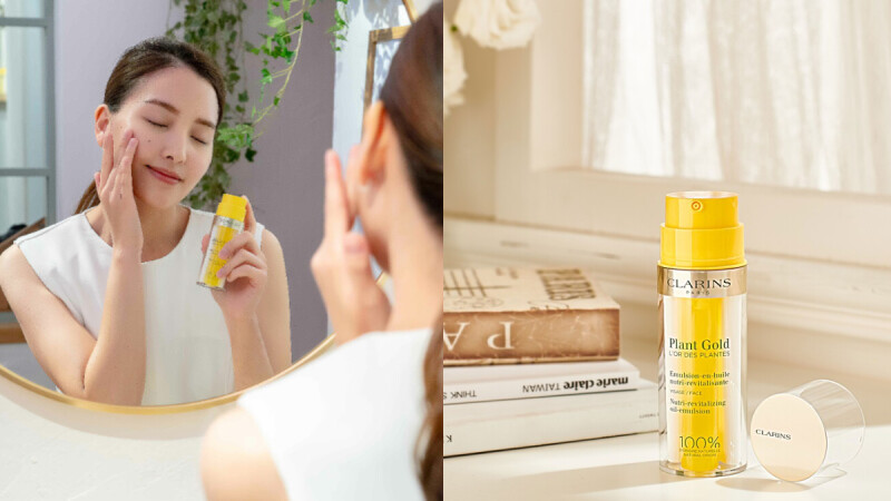 M編化妝台年度「空空賞」出爐!克蘭詩最強修護保濕乳液,蘭花精油X植萃乳一瓶雙管齊下,為肌膚帶來100%修護保濕力,臉蛋水潤發光都靠它~
