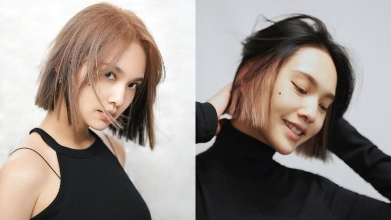楊丞琳換髮色:墨色x玫瑰金超搶眼!她們也都染了,雙層染髮10年前就流行!
