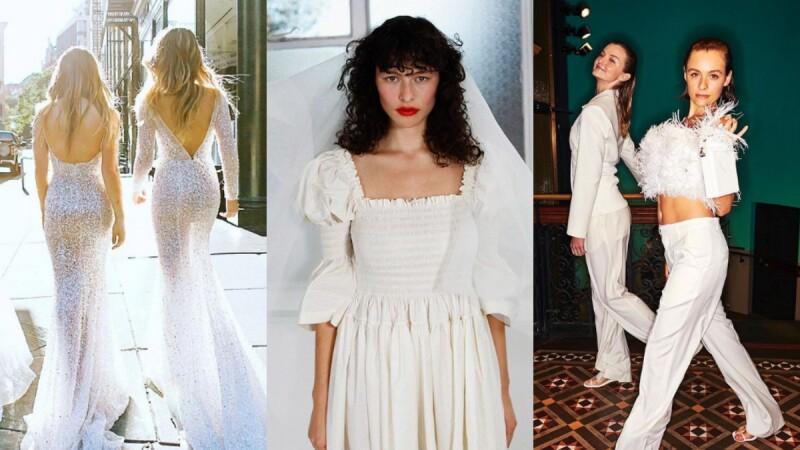 2021年的婚紗原來流行這些?!5大關鍵元素使你輕鬆掌握時髦趨勢