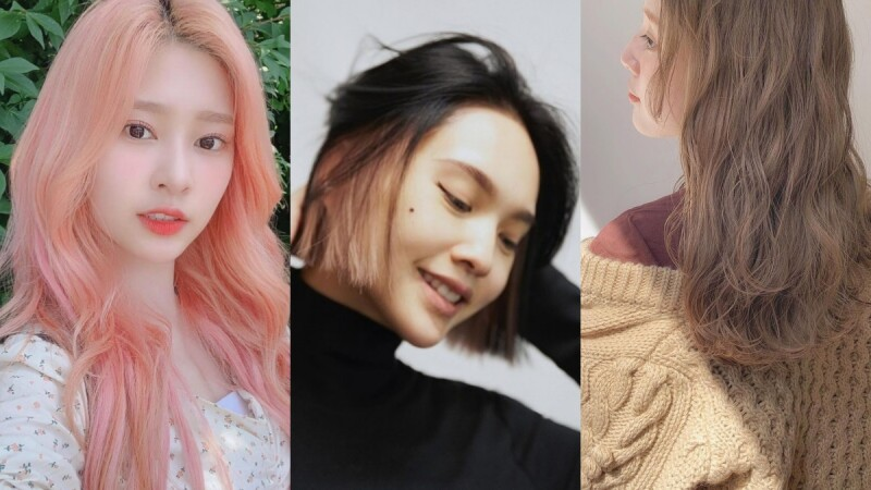 2021染髮推薦:換髮色必備範本!從低調霧棕到明亮玫瑰金,你想要的色系都在這!
