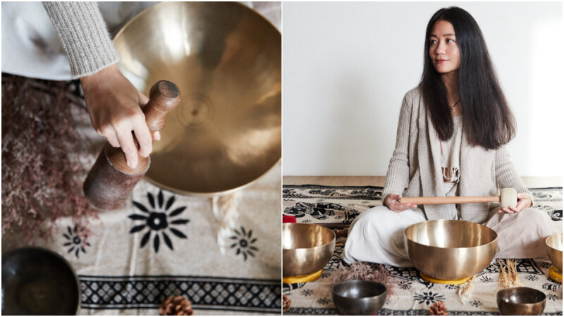 從上班族、世界旅人到頌缽音療師,Ashley:「頌缽是一份溫柔的陪伴。」