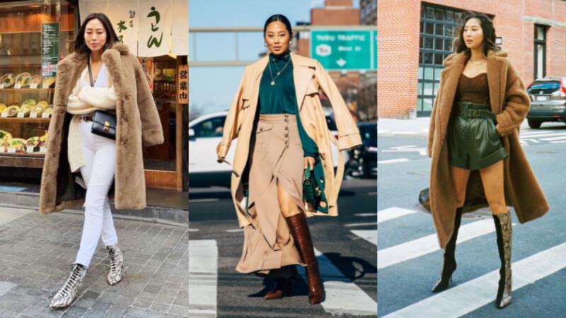 秋冬必修穿搭學分!學習時尚部落客 Aimee Song 「大衣、風衣」重複穿搭術,天天穿出百變風尚!