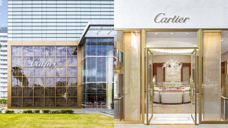 Cartier中台灣必逛名品店!首賣限量商品、空間亮點和設計概念...一次看