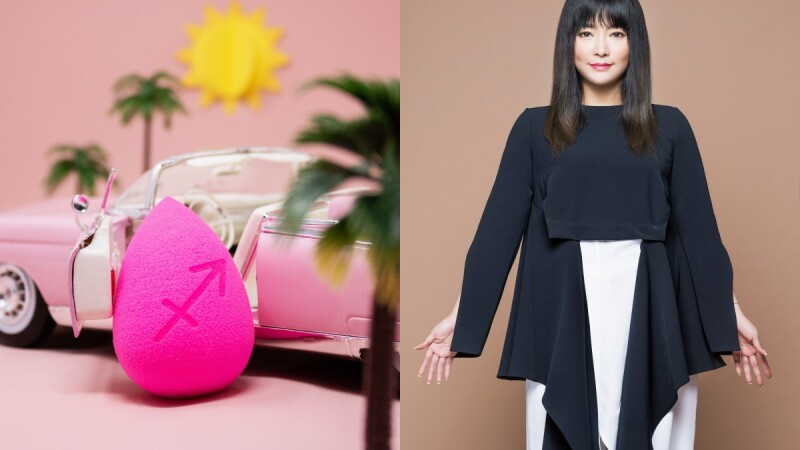 beautyblender美妝蛋推出12星座幸運彩蛋,還與國師唐綺陽推出聯名限定組合