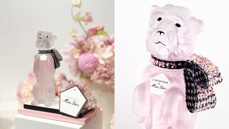 Miss Dior高級訂製珍藏版2021年驚喜推出BOBBY造型,是迪奧先生的愛犬!歷年年度限量瓶身一次看