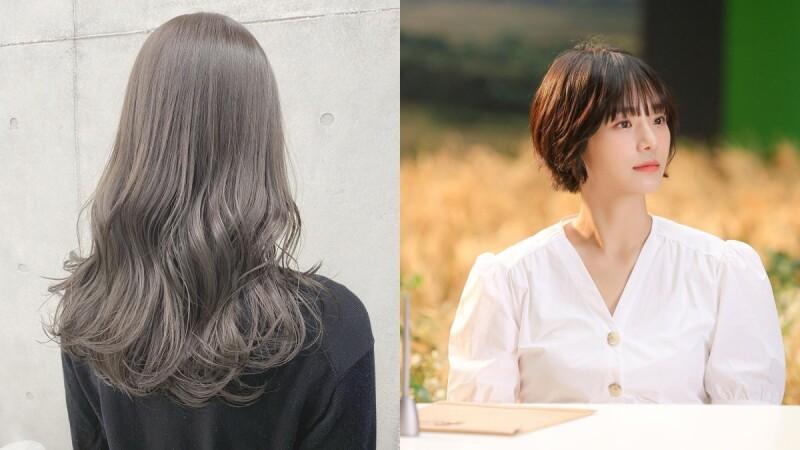 2021春夏髮色推薦:回歸大地的微霧自然光髮色正夯,無論長髮、短髮都適合!