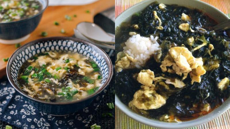 低脂高蛋白蝦仁蛋花紫菜湯食譜來了!早餐晚餐都很適合,3步驟就能完成