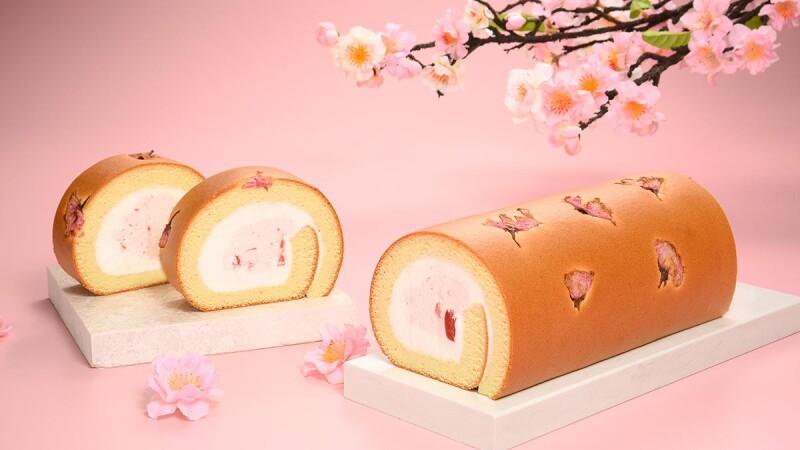 櫻花季限定!亞尼克推鹽漬櫻花生乳捲,加碼推出荔枝多多派、芋頭尬草莓雙享派