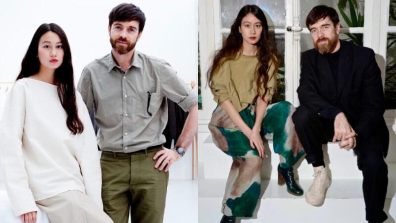 最會穿的設計師情侶檔!Christophe Lemaire 與 Sarah Linh Tran 的低調質感「情侶穿搭」示範!