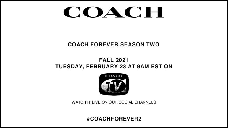 2021 秋冬紐約時裝週 Coach時裝秀直播線上看!2/23晚上10點準時登場