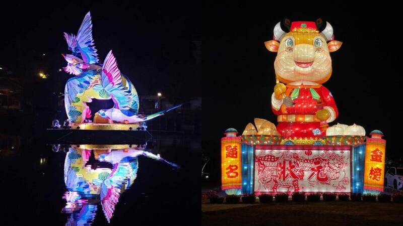 2021台灣燈會副燈移到南投、台南展出!元宵節上演聲光秀,還有超萌「活力牛」小提燈陪你過節