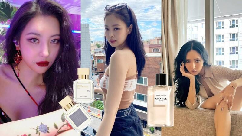 純情和性感並存!韓國女Idol的愛用香水盤點,Jennie這款清新脫俗、宣美這罐活力優雅