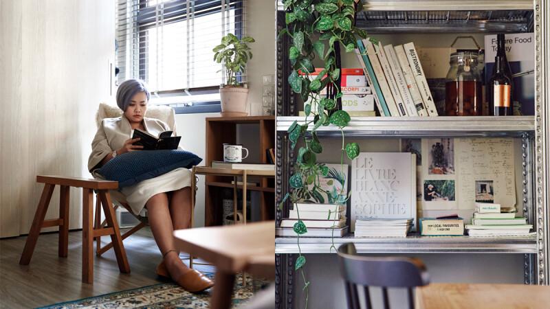 她的圖書館|食物設計師陳小曼「閱讀就是到世界上所有時空的入口。」