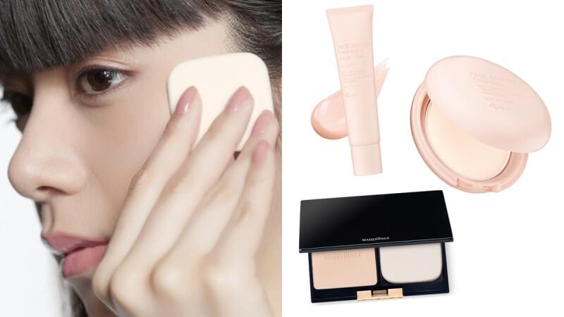 日本正流行的「口罩肌底妝」這樣畫!原來只要飾底乳+蜜粉餅,就能透氣又有好氣色