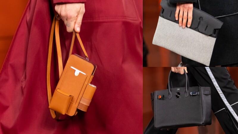2021秋冬巴黎時裝週 愛馬仕推出全新型態小包、經典Birkin變身手拿包...Hermès夢幻清單更新!