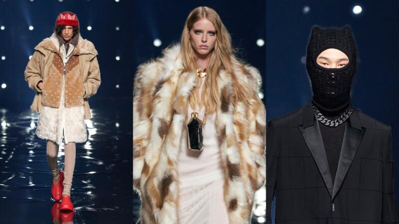 2021秋冬巴黎時裝週|熊耳蒙面面罩、王冠造型毛帽、水壺項鍊包…Givenchy大秀亮點帶你看
