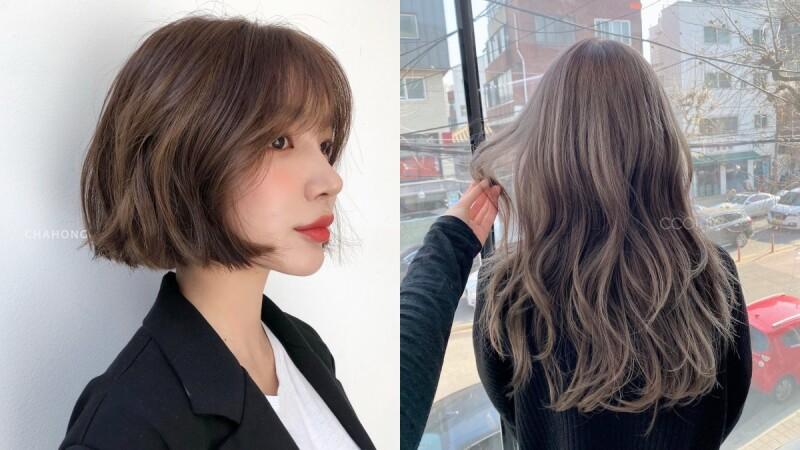 2021髮色推薦:萬年不敗百搭灰金棕色,髮絲中的銀色線條真的美呆啦!