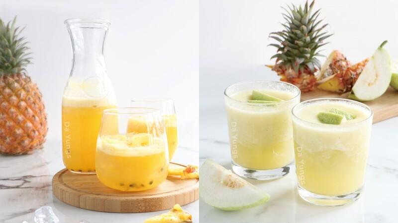 鳳梨控開喝!大苑子推款旺來系列飲品,嚴選屏東金鑽鳳梨打造酸甜的美好滋味