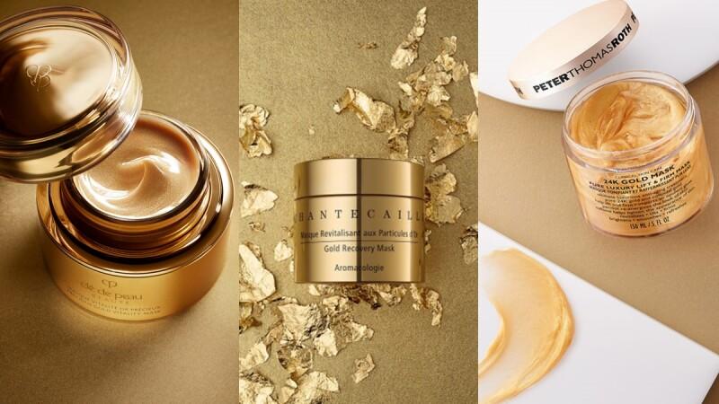 資深保養控最愛的黃金面膜盤點推薦,想抗老的疲憊肌必敷,真的往臉上貼金!