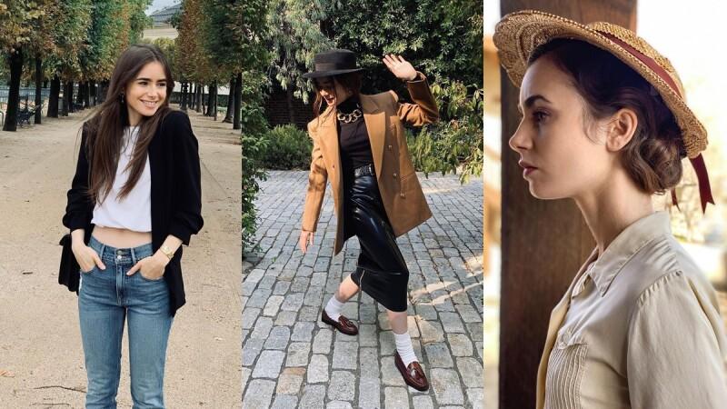 現代奧黛莉赫本Lily Collins:「我熱愛時尚,也喜歡自己搭配造型,但我並不會為了鏡頭刻意打扮。」6大金句一窺莉莉柯林斯的人生、時尚觀