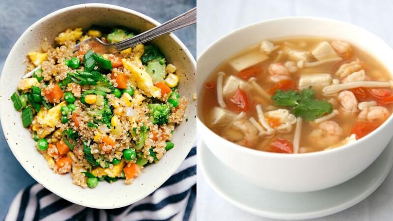 香嫩美味的低脂豆腐蛋料理:豆腐香菇滑蛋/無米豆腐黃金炒飯/菇菇蝦仁豆腐蛋花湯食譜來了