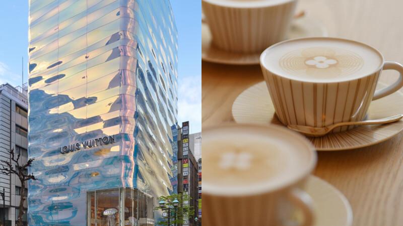 全球首家LV巧克力店在東京!銀座並木LV旗艦店華麗變身,落地玻璃帷幕打造都市水光建築