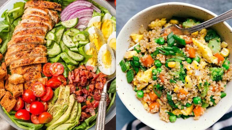 3道飽足感低脂餐:香煎牛排蕎麥麵/無米豆腐黃金炒飯/櫛瓜雞柳麵
